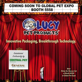 Game Changing Innovation for Cats Coming Soon from Lucy Pet
