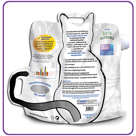 Cats Incredible 14lb Unscented Back