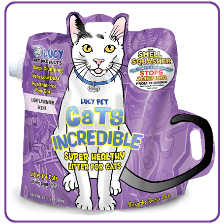 Cats Incredible 25lb Lavender