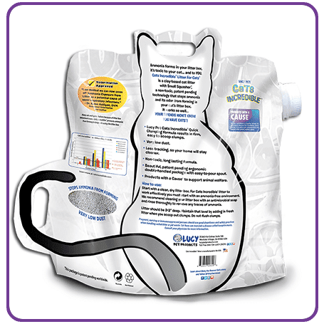 Cats Incredible 25lb Unscented Back