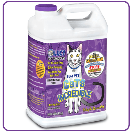 Cats Incredible 20lbJug Lavender
