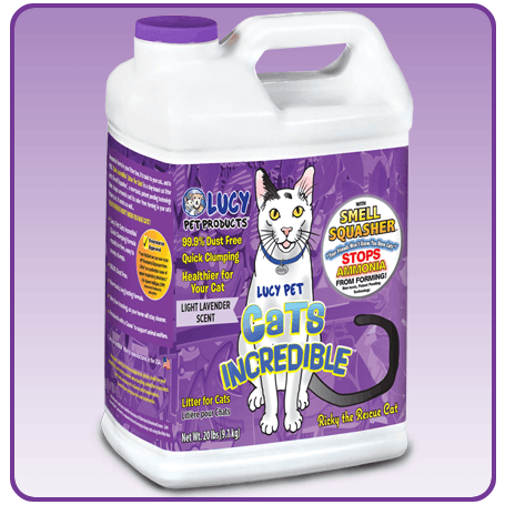 Cats Incredible Lavender 35Lb Cube