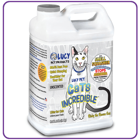 Cats Incredible 20lb Jug Unscented