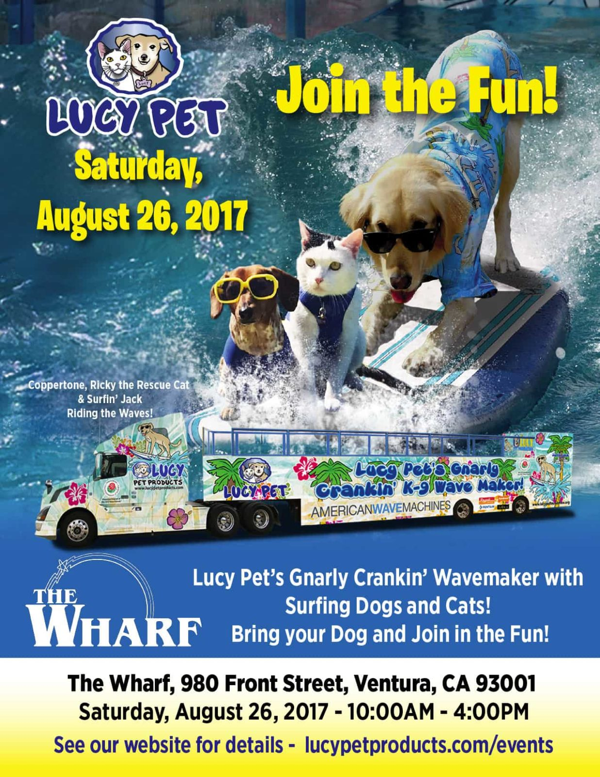 The Wharf Lucy Pet Products