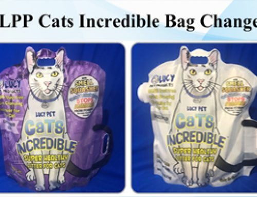 LPP Cats Incredible Bag Change