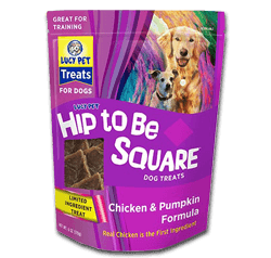 Hip To Be Square Dog Treats
