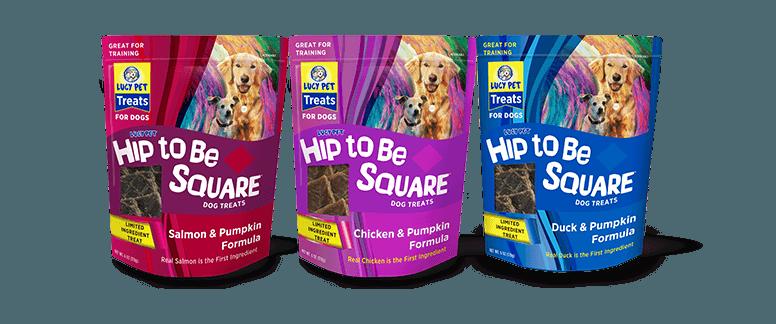 Lucy Pet Hip to Be Square Golosinas para perros
